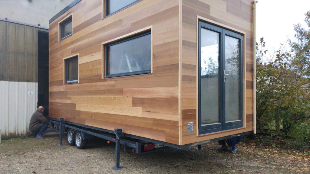 remorque pour tiny house comment bien la choisir. Black Bedroom Furniture Sets. Home Design Ideas