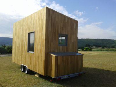 À vendre : tiny house neuve dans les Alpes de Haute-Provence
