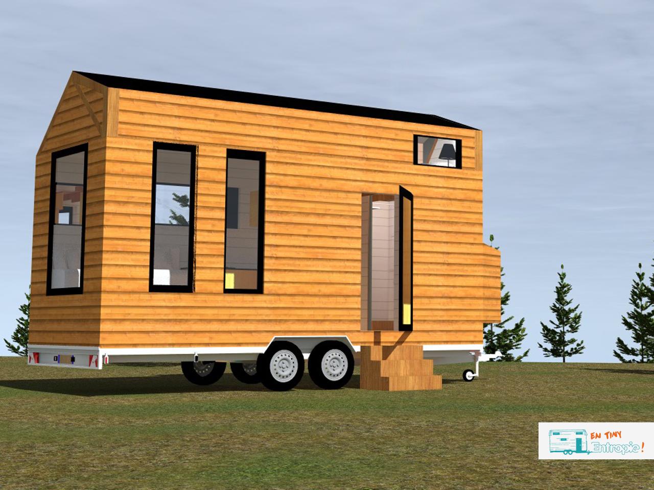 devenez propri taire d 39 une tiny house en open source. Black Bedroom Furniture Sets. Home Design Ideas