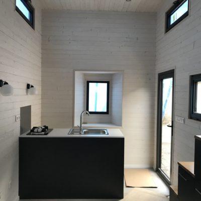 À vendre : tiny house neuve en Belgique