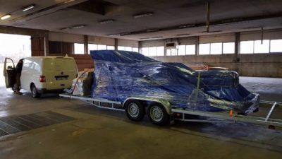 Vendu : remorque et kit de démarrage pour autoconstructeur