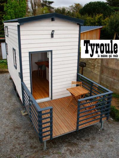 À vendre : La Nordica, tiny house de Tyroule au style scandinave
