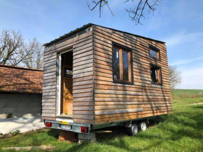 À vendre : petite tiny house hors d'eau hors d'air en Midi Pyrénées