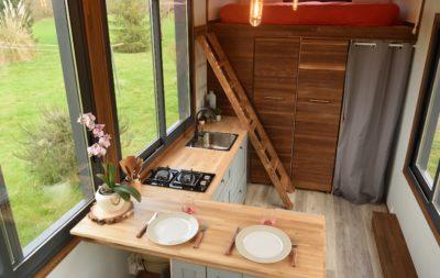 À vendre : tiny house Lumen, neuve, 7,2 m (Gironde)