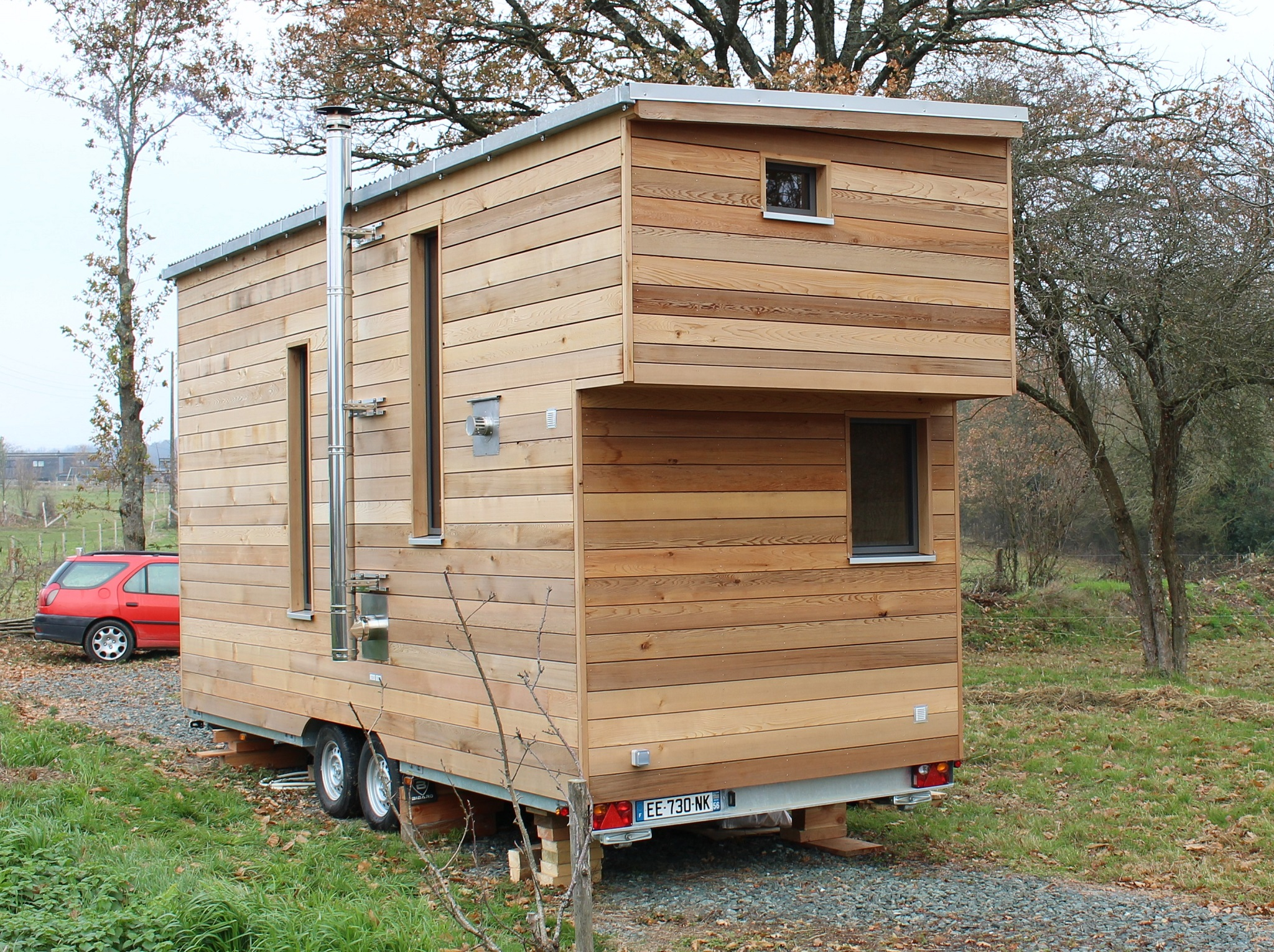 vendre tiny house d 39 occasion en bretagne collectif tiny house. Black Bedroom Furniture Sets. Home Design Ideas