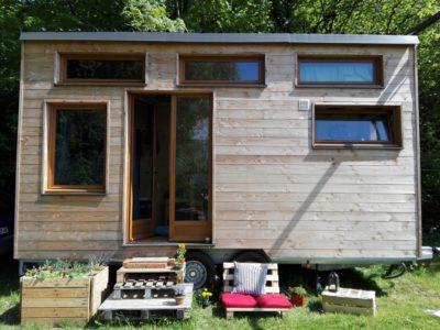 À vendre : charmante tiny house d'occasion en Isère